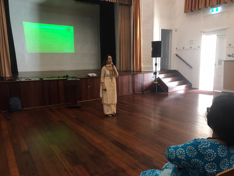 Dr Vidhu, Guest Speaker at Women's Event organised by ISWA in January 2020!
